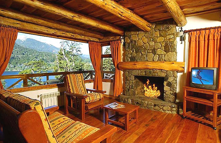 Fotos caba as en villa la angostura caba as huitan co for Diseno de interiores de cabanas